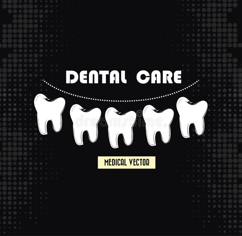 Soins dentaires illustration libre de droits