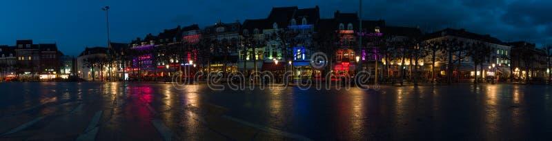 Soirée Maastricht image stock