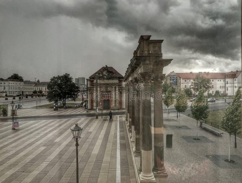 Soirée Szene à Potsdam photo libre de droits