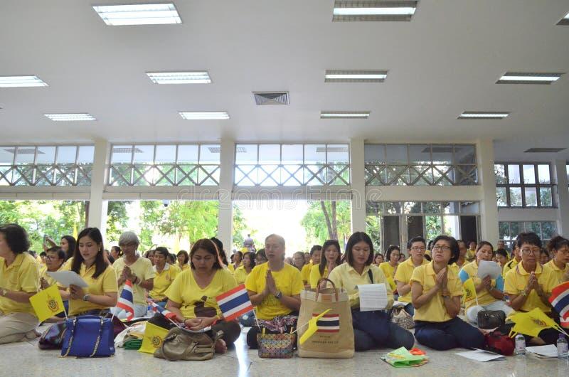 09,2016-soixante-dixième année de BANGKOK THAILAND-JUNE dans le règne du roi de la Thaïlande photographie stock