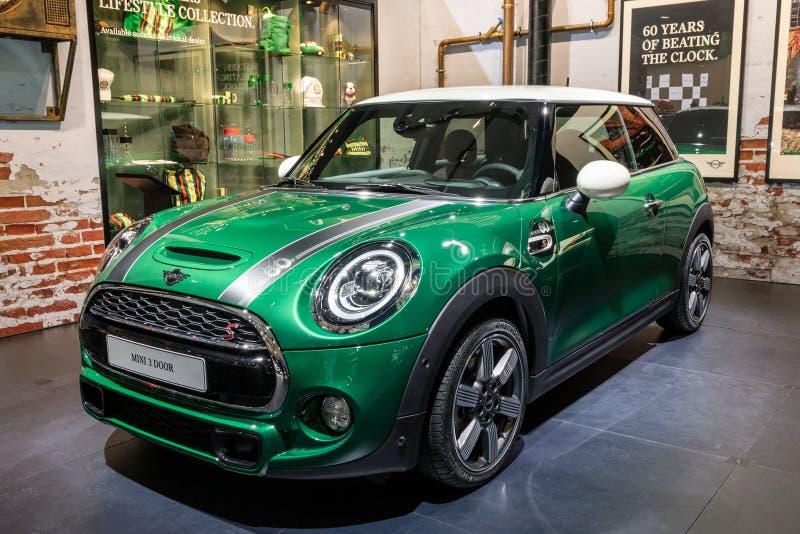 Soixantième voiture d'édition d'anniversaire d'année de Mini Cooper photographie stock