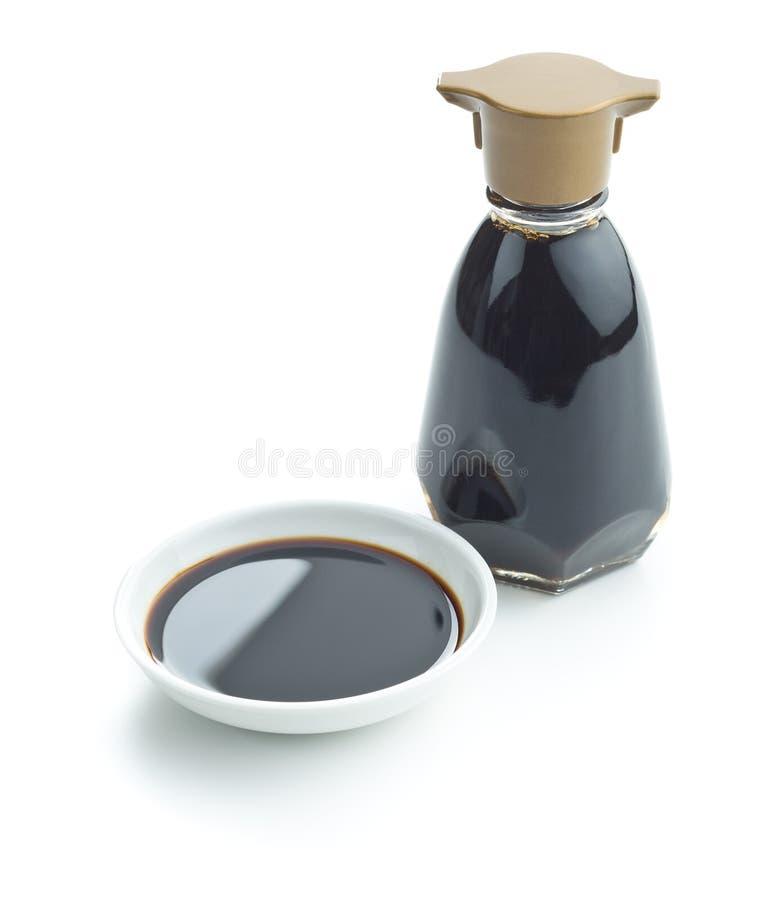 Soja kumberland w pucharze fotografia stock
