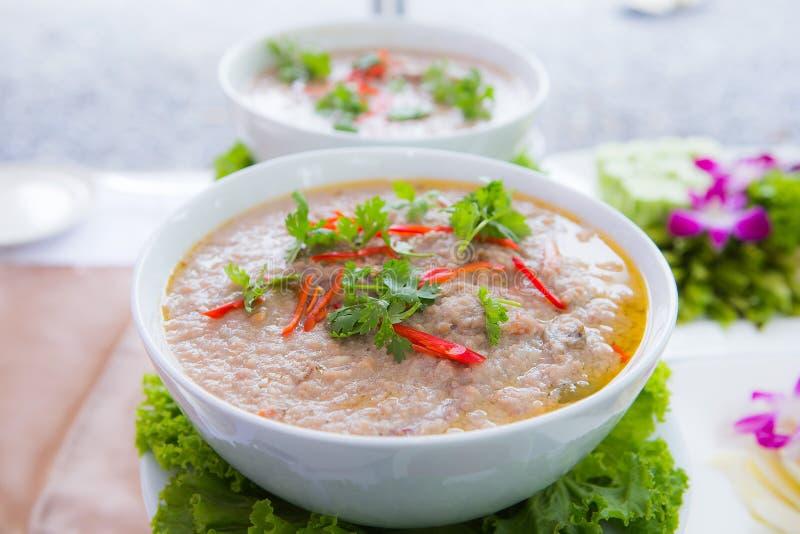 Soja tailandesa Bean Dipping Sauce foto de archivo libre de regalías