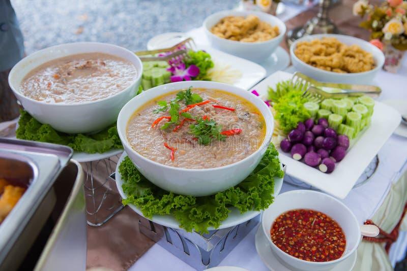 Soja tailandesa Bean Dipping Sauce fotos de archivo libres de regalías