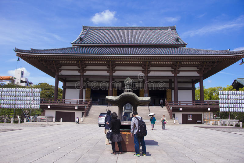 Sojiji tempel royaltyfri fotografi