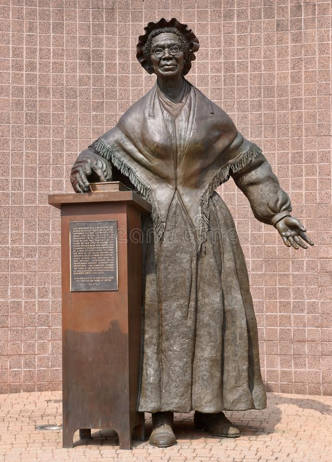 Sojourner Truth Statue stock images