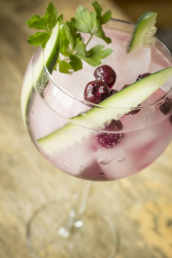 Soju Koreaanse Cocktail royalty-vrije stock afbeelding