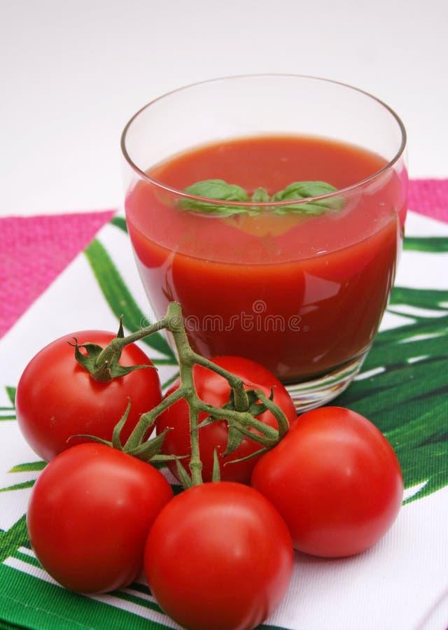 soków świezi pomidory fotografia royalty free