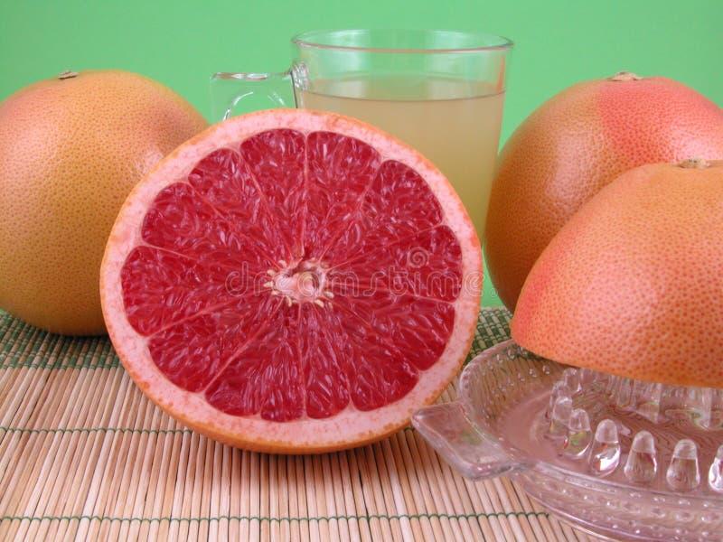 sok grejpfrutowy obrazy stock