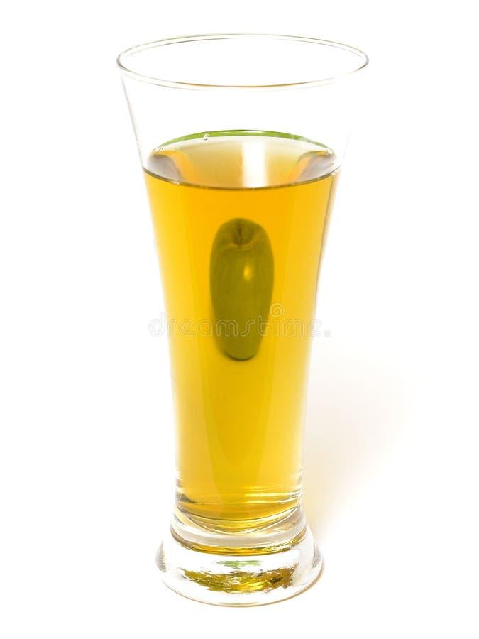 sok jabłkowy zdjęcie stock