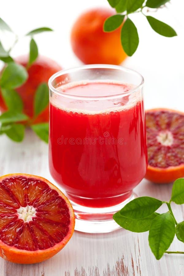 sok krwionośna pomarańcze fotografia royalty free