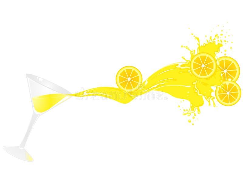 sok pomarańcze royalty ilustracja