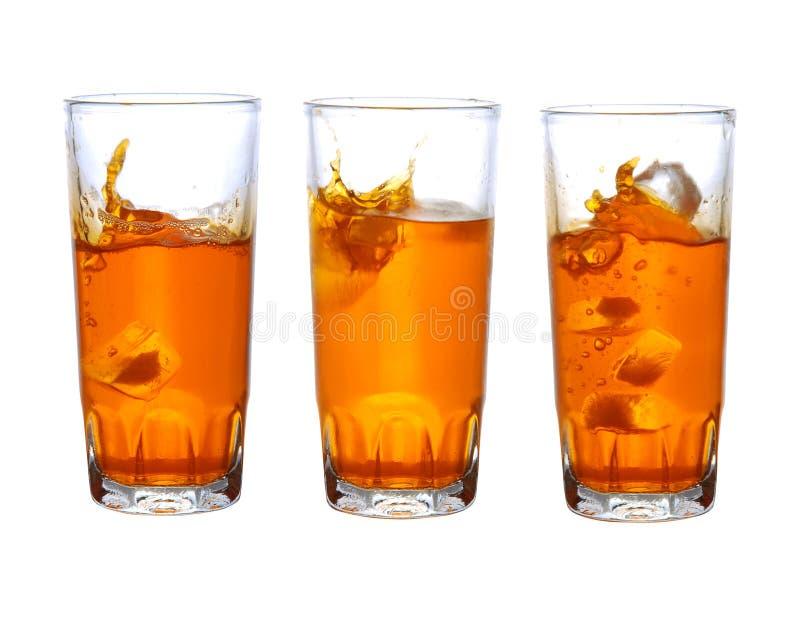 sok pomarańczowy zdjęcia royalty free