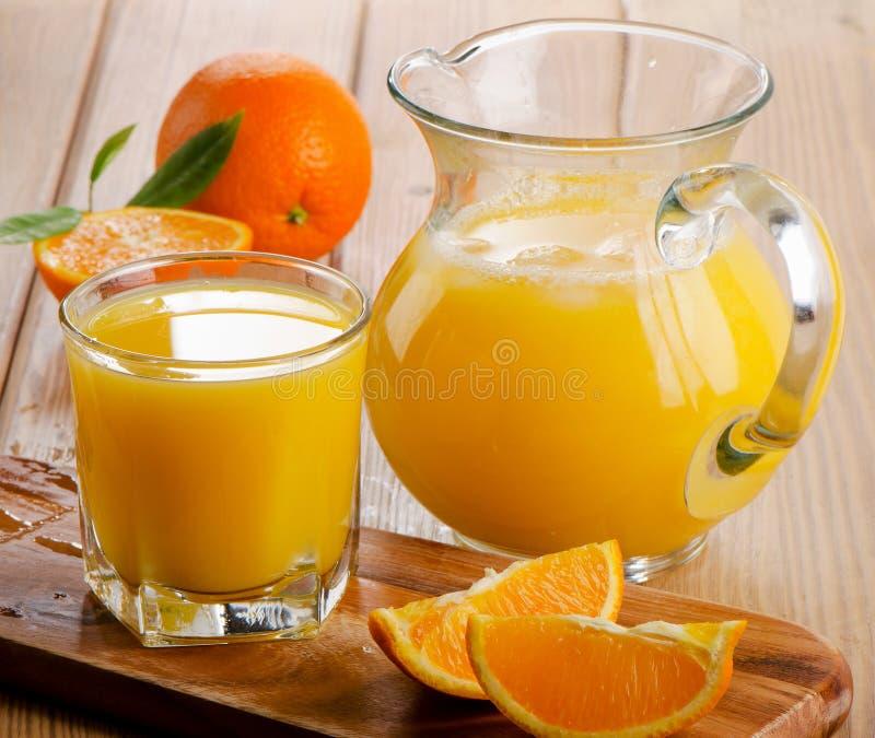 sok pomarańczowy white odizolowane obraz stock