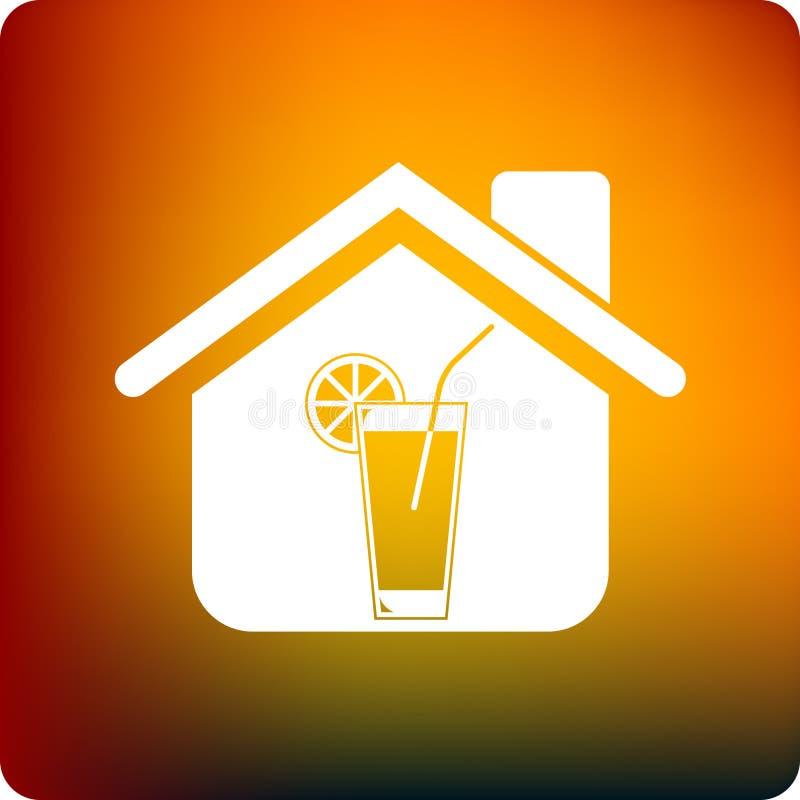 sok w domu royalty ilustracja