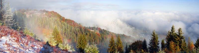 Sokalrand in de herfst royalty-vrije stock foto's