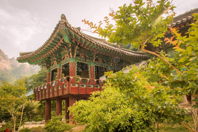 Seoraksan is one of the best known national parks in South Korea royalty free stock image