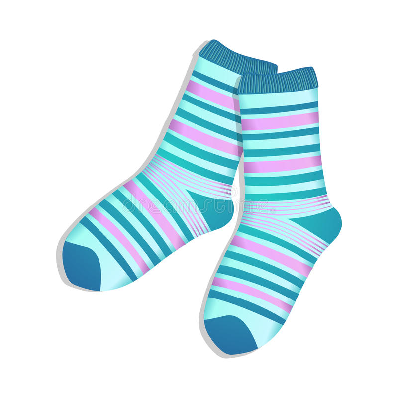 sokken stock illustratie