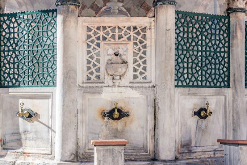 Sokollu Mehmed Pasha Mosque a Costantinopoli fotografie stock libere da diritti