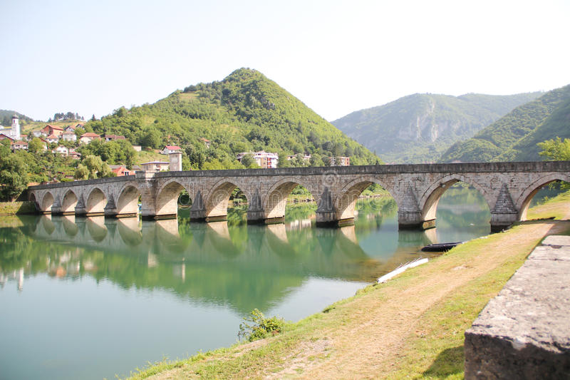 sokolovi mehmed egrad PA моста VI стоковые изображения rf