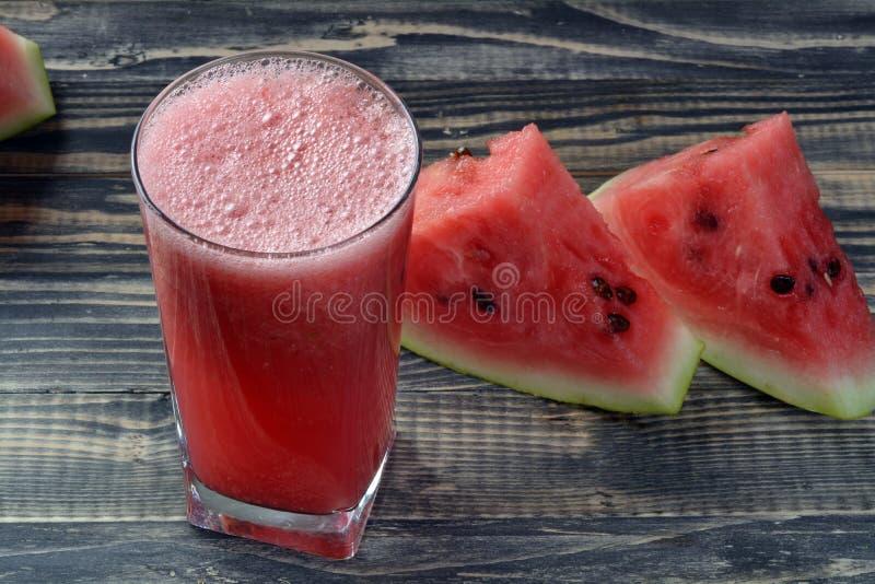soku świeży arbuz zdjęcia stock