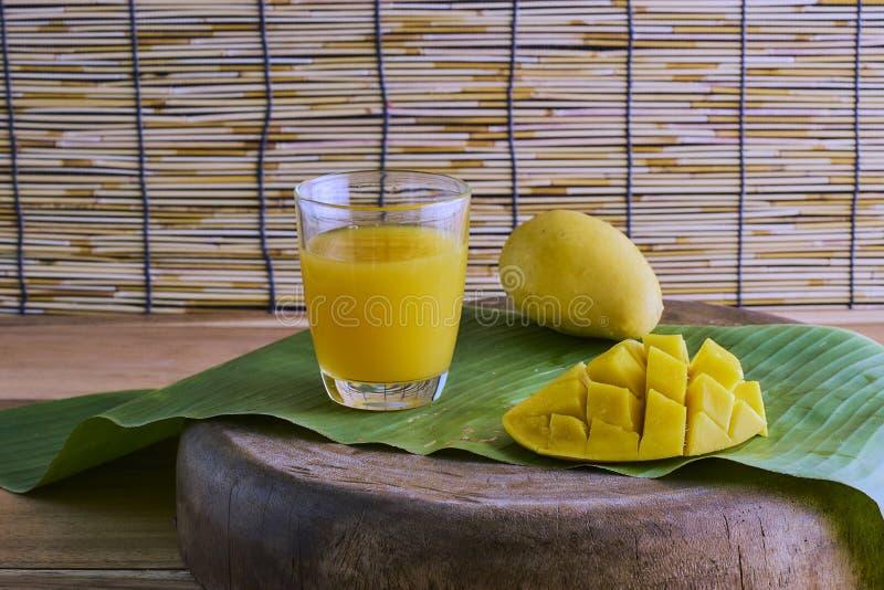 soku świeży mango obraz stock