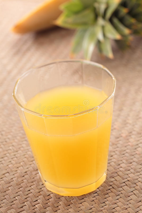 soku ananas zdjęcia stock