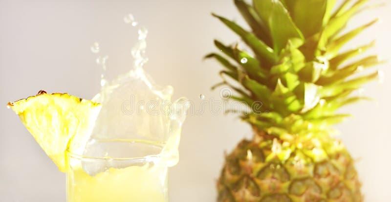 soku ananas obrazy stock