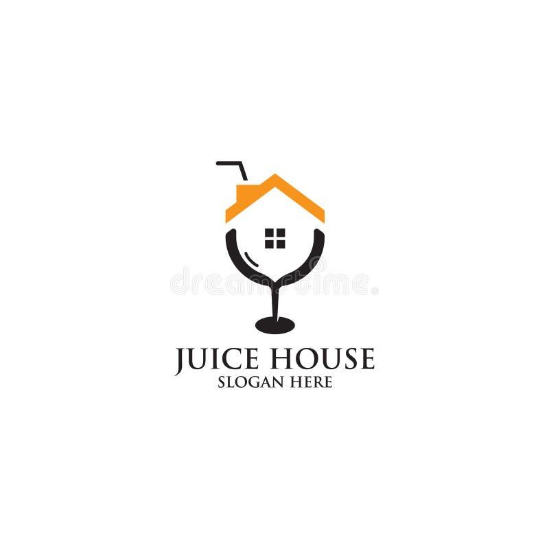 Soku Domowy logo, wyłączności na wywiad, Nowożytnego i Unikalnego projekt, royalty ilustracja