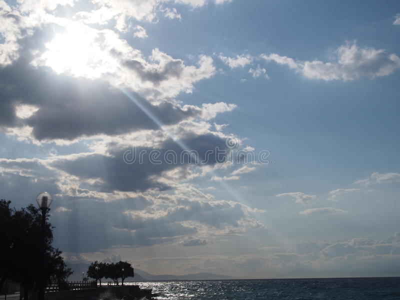 sol foto de archivo libre de regalías