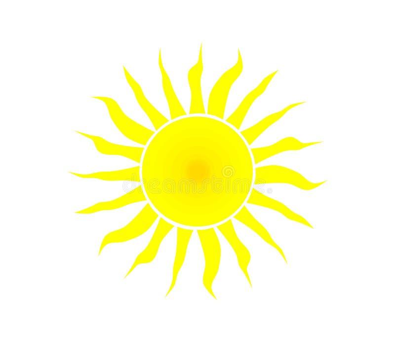 Sol amarillo. libre illustration