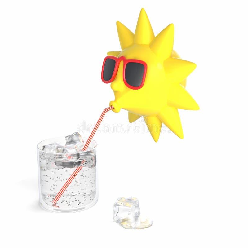 Download Sol amarillo stock de ilustración. Ilustración de hielo - 42434165