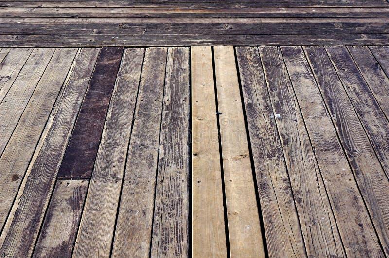 Sol ancien en bois photo libre de droits