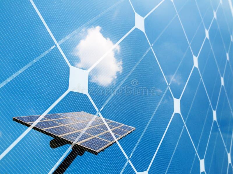 sol- begreppsenergi royaltyfri foto