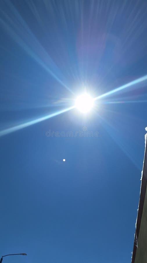 Sol brilhante imagens de stock