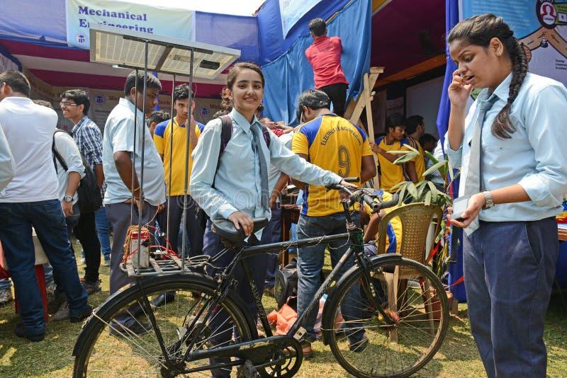 Sol- cykel arkivbild