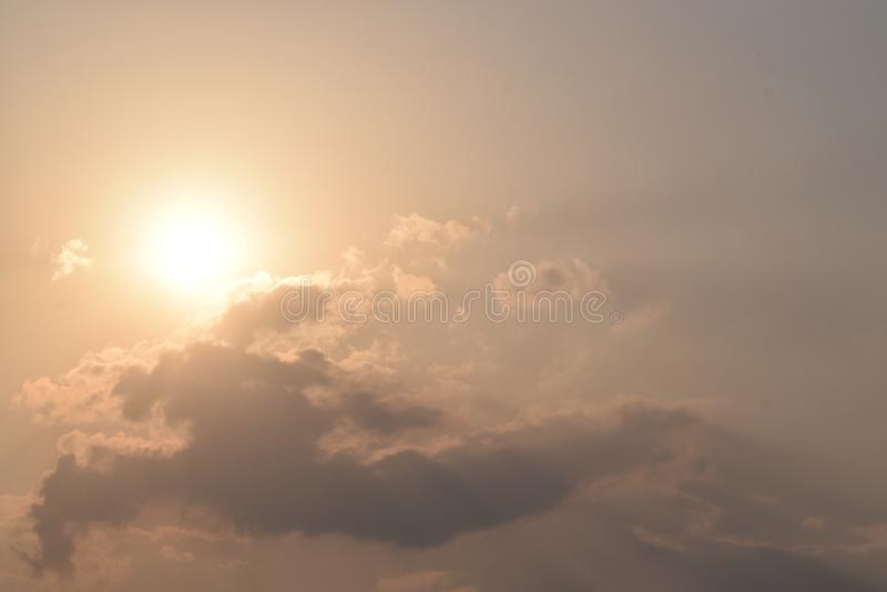 Sol de la tarde fotografía de archivo libre de regalías
