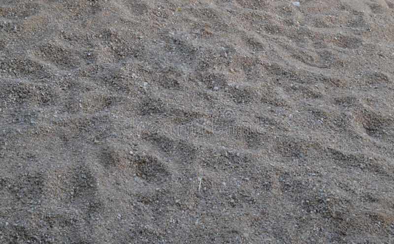 Sol de Sandy photographie stock libre de droits