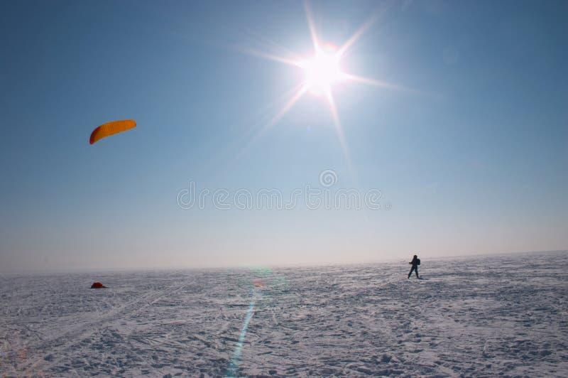 Sol del invierno imagenes de archivo