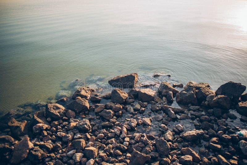Sol del mar fotos de archivo