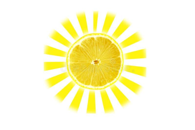 Sol do citrino imagens de stock