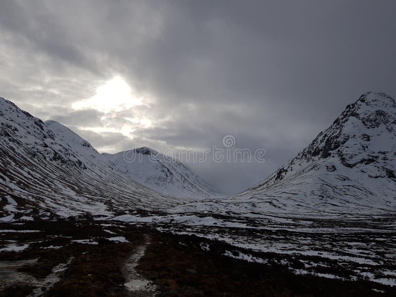 Sol do inverno foto de stock royalty free