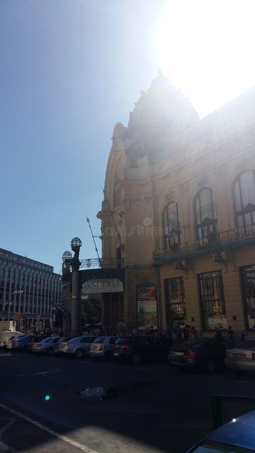Sol en Praga imagen de archivo libre de regalías