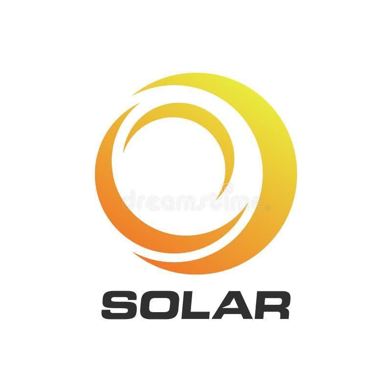 Download Sol- Energi För Abstrakt Cirkel Och Förnybar Teknologilogo Vektor Illustrationer - Illustration av elektricitet, förnybart: 78725183