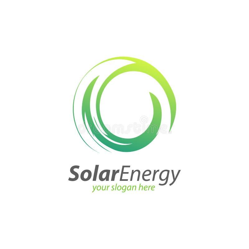 Download Sol- Energi För Abstrakt Cirkel Och Förnybar Teknologilogo Vektor Illustrationer - Illustration av förnybart, linje: 78725203