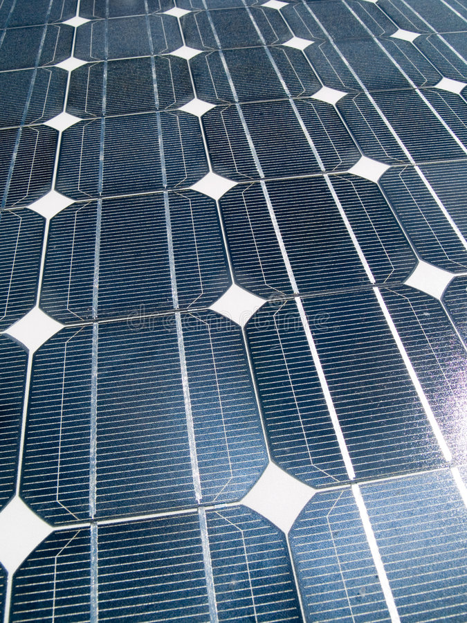 sol- panel royaltyfri fotografi