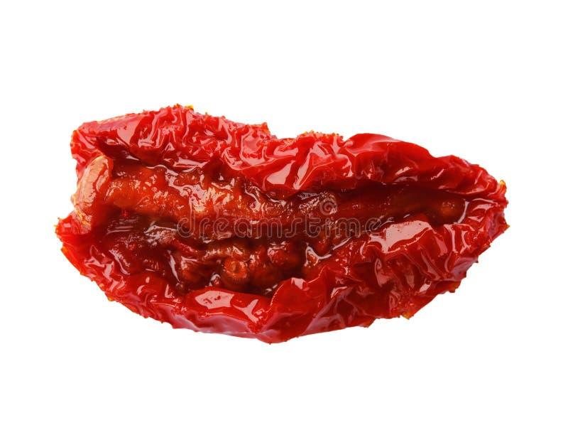 Sol saboroso tomate secado fotografia de stock