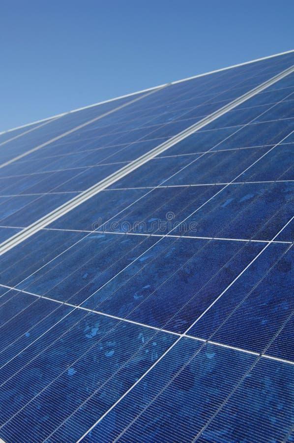 sol- samlarepanel arkivfoto