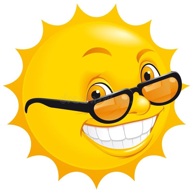 Sol sonriente libre illustration