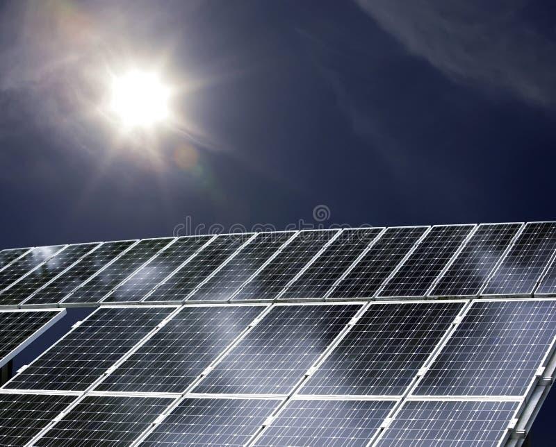 sol- ström royaltyfria foton